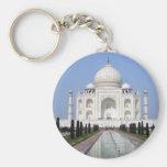 El Taj Mahal, Agra, la India Llavero Personalizado