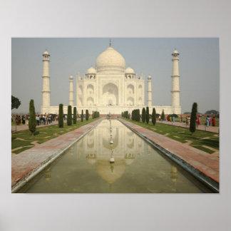 El Taj Mahal, Agra, la India Posters