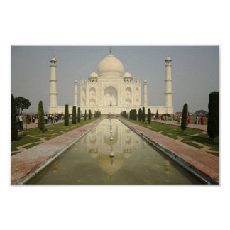 El Taj Mahal, Agra, la India Impresiones