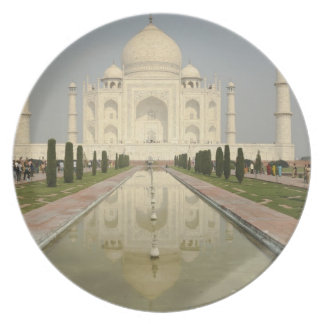El Taj Mahal, Agra, la India Platos Para Fiestas