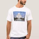 El Taj Mahal, Agra, la India Playera