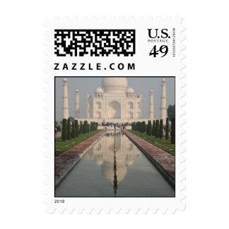 El Taj Mahal Agra la India Sello