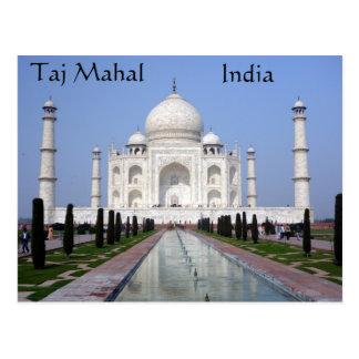 El Taj Mahal, Agra, la India Postal