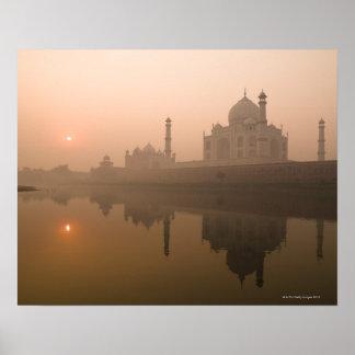 El Taj Mahal Agra la India Posters