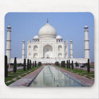 El Taj Mahal Agra la India Tapete De Ratón