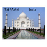 El Taj Mahal, Agra, la India Tarjetas Postales
