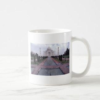 El Taj Mahal Agra la India Tazas