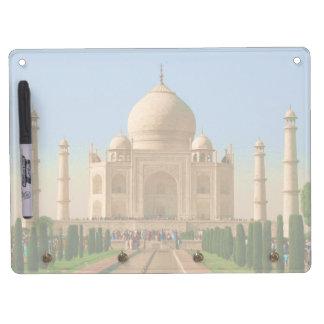 el Taj Mahal Agra Tablero Blanco