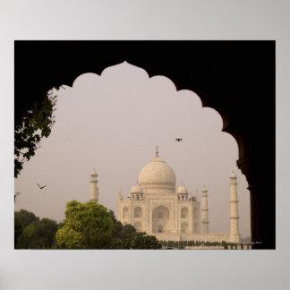 El Taj Mahal Agra Uttar Pradesh la India 2 Posters