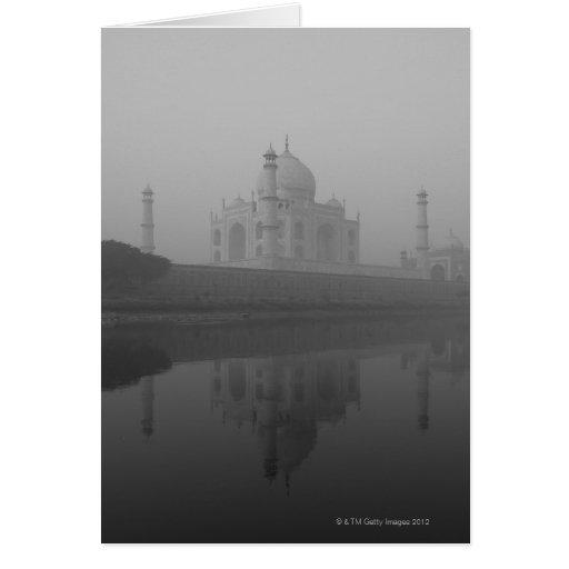 El Taj Mahal, Agra, Uttar Pradesh, la India 3 Felicitacion