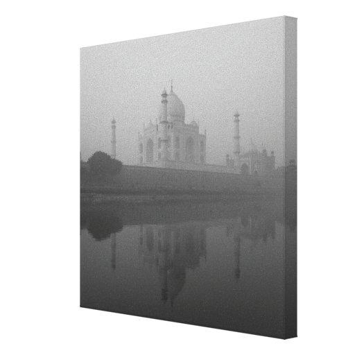 El Taj Mahal, Agra, Uttar Pradesh, la India 4 Lienzo Envuelto Para Galerías