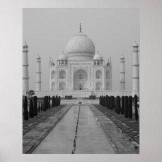 El Taj Mahal, Agra, Uttar Pradesh, la India 5 Póster