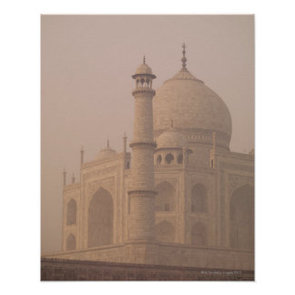 El Taj Mahal Agra Uttar Pradesh la India 6 Poster