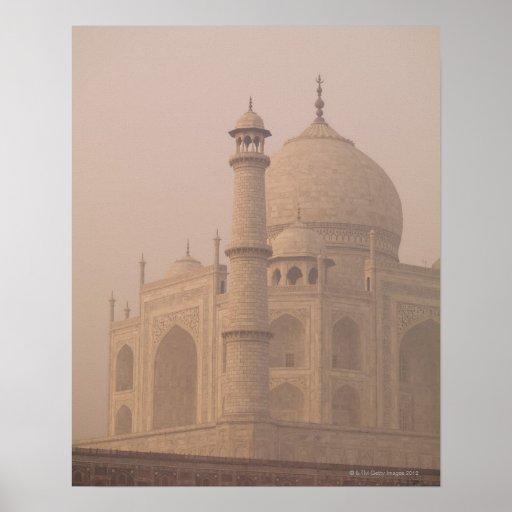 El Taj Mahal, Agra, Uttar Pradesh, la India 6 Póster