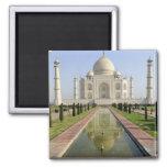 El Taj Mahal, Agra, Uttar Pradesh, la India, Imán Cuadrado
