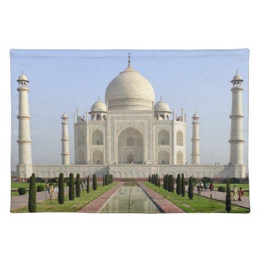 El Taj Mahal, Agra, Uttar Pradesh, la India, Mantel
