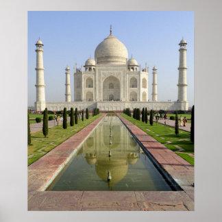 El Taj Mahal Agra Uttar Pradesh la India Impresiones