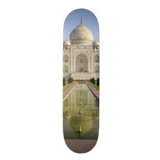 El Taj Mahal, Agra, Uttar Pradesh, la India, Patín