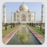 El Taj Mahal, Agra, Uttar Pradesh, la India, Pegatina Cuadrada