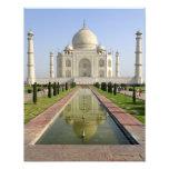 El Taj Mahal, Agra, Uttar Pradesh, la India, Cojinete