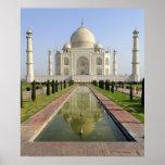 El Taj Mahal, Agra, Uttar Pradesh, la India, Póster