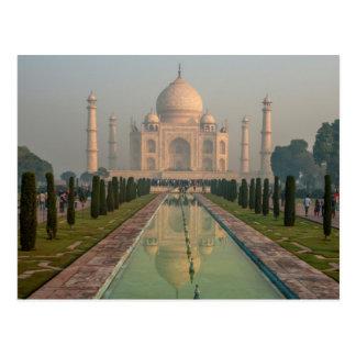 El Taj Mahal, Agra, Uttar Pradesh, la India Tarjeta Postal