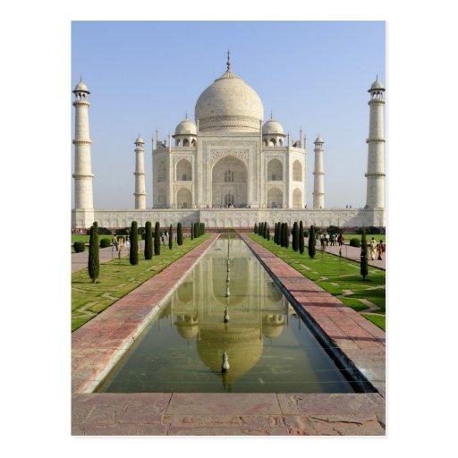 El Taj Mahal, Agra, Uttar Pradesh, la India, Tarjeta Postal