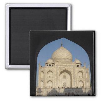 el Taj Mahal arqueó Imán Cuadrado