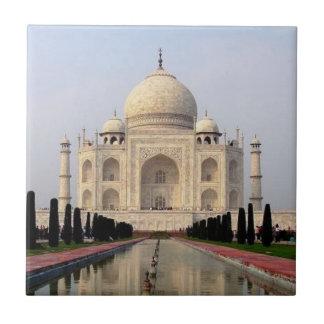 El Taj Mahal Azulejo Cuadrado Pequeño