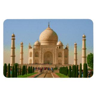 el Taj Mahal brillante Rectangle Magnet