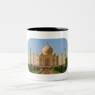 el Taj Mahal brillante Tazas