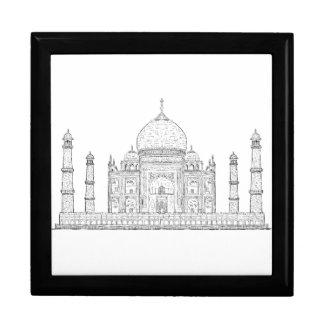 el Taj Mahal Cajas De Joyas