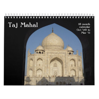 el Taj Mahal calendario de 18 meses