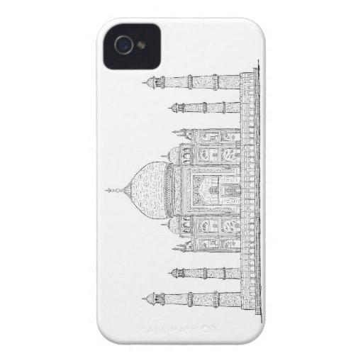 el Taj Mahal Case-Mate iPhone 4 Fundas