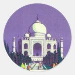 ~ el Taj Mahal de Agra Pegatina