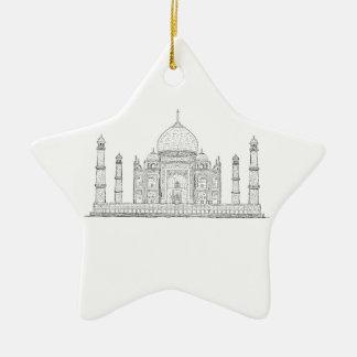 el Taj Mahal Ornato