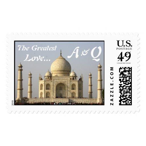 El Taj Mahal: El amor más grande Franqueo