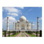 El Taj Mahal en Agra la India 7 maravillas del mun Postales