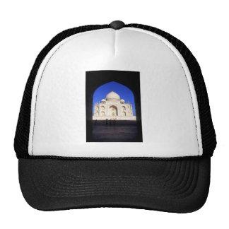 El Taj Mahal en Agra la India Gorra