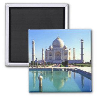 El Taj Mahal en Agra la India Imán Cuadrado