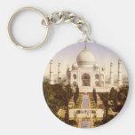 El Taj Mahal en Agra la India Llavero Personalizado