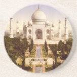 El Taj Mahal en Agra la India Posavaso Para Bebida