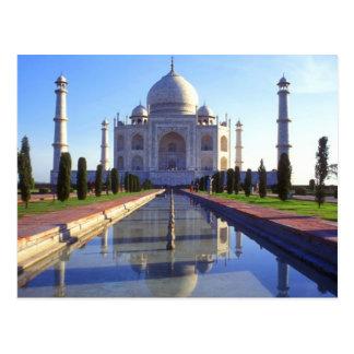 El Taj Mahal en Agra la India Postal