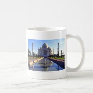 El Taj Mahal en Agra la India Taza