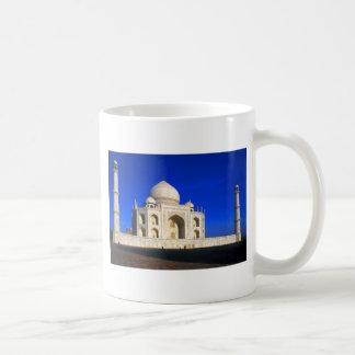 El Taj Mahal en Agra Taza
