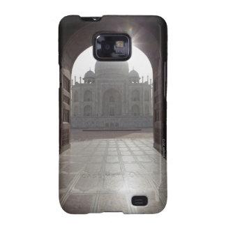 El Taj Mahal enmarcado a través de la entrada a Samsung Galaxy SII Carcasa