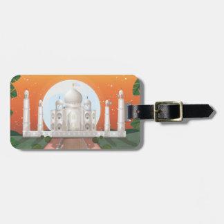 El Taj Mahal Etiqueta Para Equipaje