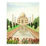 El Taj Mahal Flyer Personalizado