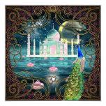 El Taj Mahal Invitación 13,3 Cm X 13,3cm