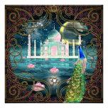 El Taj Mahal Invitaciones Personalizada